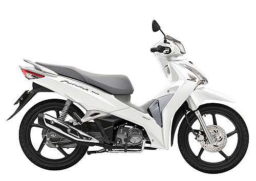 Phiên bản Future màu trắng bạc đen mới của Honda.