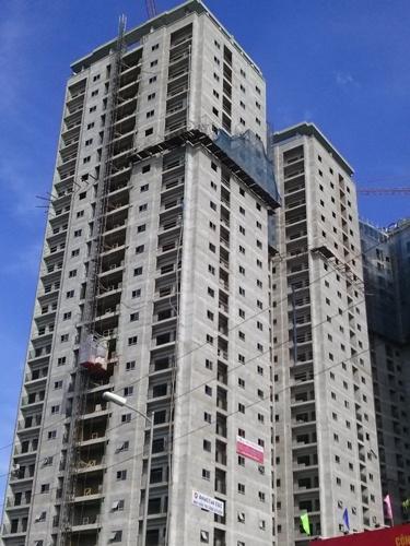 Các căn hộ tại đây đang được bán với giá từ 18-20 triệu đồng/m2