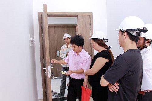 Cư dân Luxcity nhận nhà đón Tết