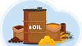 Hàng hóa TG phiên 24/2: Giá hầu hết giảm mạnh do lo ngại về COVID-19, riêng vàng tăng