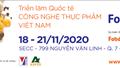 18-21/11: Triển lãm Quốc tế Công nghiệp Thực phẩm VN (Vietnam Foodexpo 2020)