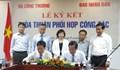 Báo Nhân Dân và Bộ Công thương ký thỏa thuận phối hợp công tác