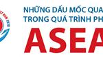 Những dấu mốc quan trọng trong quá trình phát triển ASEAN