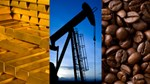 Hàng hóa TG sáng 16/7/2019: Giá dầu và vàng giảm, cà phê tăng