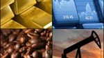 Hàng hóa TG sáng 24/1/2019: Giá dầu giảm, vàng vững, cà phê tăng