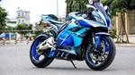 Honda CBR600RR sơn dàn vỏ bắt mắt của biker Sài Gòn