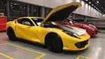 """Lộ ảnh """"bằng xương, bằng thịt"""" của siêu xe Ferrari 812 Superfast"""