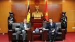 Thứ trưởng Đỗ Thắng Hải làm việc với Bộ trưởng thứ hai Bộ Ngoại giao và TM Bru-nây