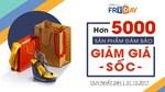 5000 sản phẩm đảm bảo trong Ngày mua sắm trực tuyến Online Friday 2017