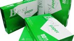 Sản phẩm giấy xuất xứ từ Trung Quốc chiếm 45,62% tỷ trọng