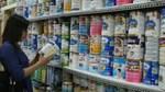 Nhập khẩu sữa và sản phẩm giảm sau 3 tháng tăng liên tiếp