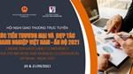 Hội nghị giao thương trực tuyến XTTM và hợp tác DNVN- Ấn Độ 2021