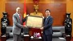 Bộ trưởng Trần Tuấn Anh tiếp xã giao Đại sứ Ấn Độ tại Việt Nam