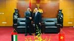 Thứ trưởng Cao Quốc Hưng làm việc với Đại sứ UAE tại Việt Nam