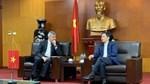 Bộ trưởng Trần Tuấn Anh tiếp Thứ trưởng Ngoại giao Cộng hòa Azerbaijan