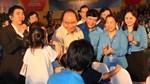 Thủ tướng Chính phủ gặp gỡ, đối thoại với 2.000 công nhân và người lao động