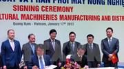 Hàn Quốc chuyển giao công nghệ sản xuất máy nông nghiệp cho Việt Nam