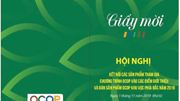 Mời tham dự Hội nghị Kết nối các sản phẩm tham gia chương trình OCOP