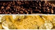 Hàng hóa TG sáng 19/7/2019: Giá cà phê và vàng tăng tiếp, dầu giảm