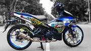 Exciter 150 độ cặp mâm R3 của biker Trà Vinh