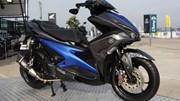 Xe thay thế Yamaha Nouvo đầu tiên gắn đồ chơi hàng hiệu