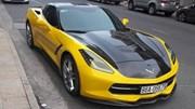 """Tay chơi Bình Thuận """"trang điểm"""" cho Chevrolet Corvette C7 Stingray"""