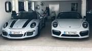 Diện kiến chiếc Porsche 911 R đặc biệt với màu sơn đánh lừa thị giác