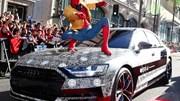 """""""Người Nhện"""" đã quảng cáo xe Audi như thế nào?"""