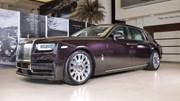 Vẻ đẹp của xe nhà giàu Rolls-Royce Phantom 2018 tại Các Tiểu vương quốc Ả Rập