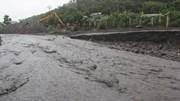 Ga vận tải than Lộ Phong lại chìm trong lũ đá