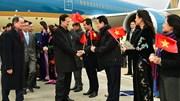 Thủ tướng Chính phủ Nguyễn Tấn Dũng tới Paris