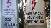 Biển cảnh báo phản quang: Tăng cường bảo đảm an toàn điện