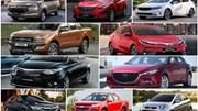 Bảng giá các loại xe ô tô tháng 10/2018 mới nhất