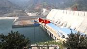 Tháng 12/2015, thủy điện Lai Châu phát điện tổ máy số 1