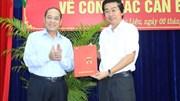 Bí thư Bạc Liêu được bổ nhiệm Phó trưởng Ban Nội chính Trung ương