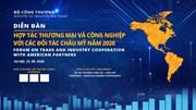 Diễn đàn hợp tác thương mại và công nghiệp với các đối tác châu Mỹ 2020