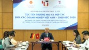 Xúc tiến thương mại và hợp tác giữa các doanh nghiệp Việt Nam – CHLB Đức