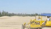 Tạm dừng cấp phép mới các dự án tận thu cát nhiễm mặn
