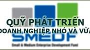 TT 08/2020/TT-BKHĐT tiếp nhận tài trợ, đóng góp của Quỹ Phát triển DNNVV