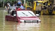 Làm thế nào để lái xe qua chỗ ngập nước?