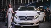 Mercedes ra mắt V Class hoàn toàn mới, giá từ 2,5 tỉ đồng