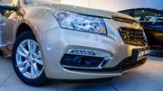 Cận cảnh Chevrolet Cruze 2015 phiên bản mới