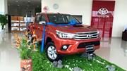 Toyota Hilux 2016 đã về đại lý, sẵn sàng cho ngày ra mắt