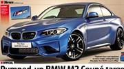 BMW M2 2017 lộ diện trước giờ ra mắt chính thức