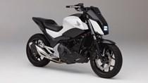 Honda ra mẫu môtô không chân chống, tự cân bằng tại triển lãm CES