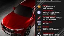 Chi tiết thông số kỹ thuật của ô tô VinFast LUX