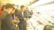 Bộ trưởng Bộ Công Thương kiểm tra đột xuất thị trường ngày áp Tết