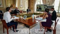 Nhóm G7 nhất trí phối hợp mở cửa trở lại nền kinh tế sau đại dịch COVID-19
