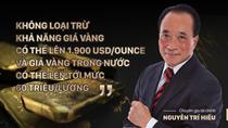 Giá vàng có thể đạt 60 triệu đồng/lượng?