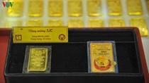 Giá vàng trong nước giảm hơn 500.000 đồng/lượng vào ngày cuối tuần